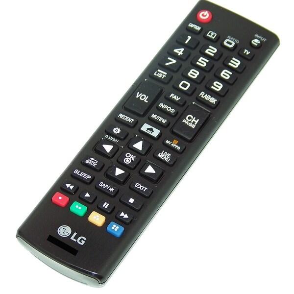 OEM LG Remote Control Originally Shipped With: 49UF6400UA, 49UF6400-UA, 49UF6430, 49UF6430UB, 49UF6430-UB, 55UF6430