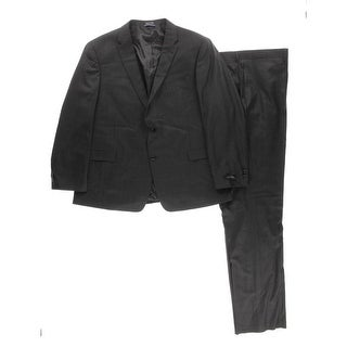 Tommy Hilfiger Mens Vasser Two-Button Suit Wool 2PC - 52r