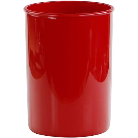 """Reston Lloyd Calypso Basic Plastic Utensil Holder, Red - 4 3/4"""" x 6 1/2"""""""