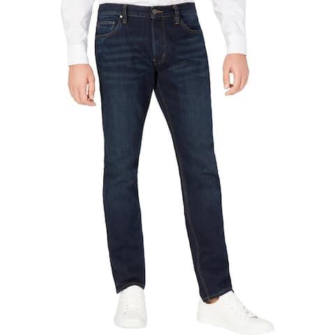 Michael Kors Mens Parker Jeans Denim Slim Fit