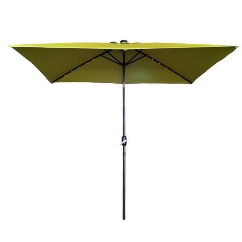 10' x 6.5' Patio Market Outdoor Shades Umbrella 4 Colors
