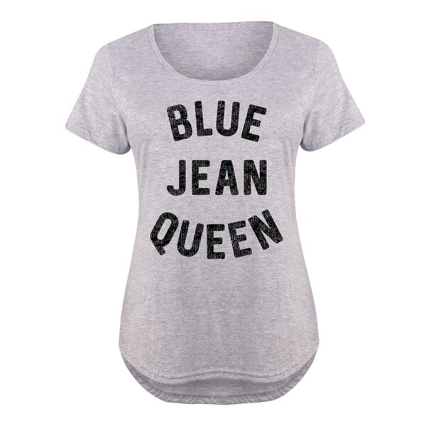 6882c7afc7 Shop Blue Jean Queen - Ladies Plus Size Scoop Neck Tee - Free Shipping On  Orders Over  45 - Overstock.com - 21033172
