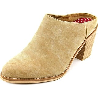 Rocket Dog Dex Women Pointed Toe Synthetic Tan Mules
