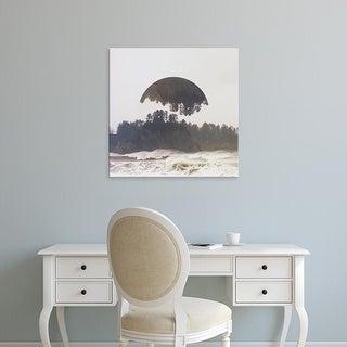 Easy Art Prints Laura Marshall's 'Reflected Landscape III' Premium Canvas Art