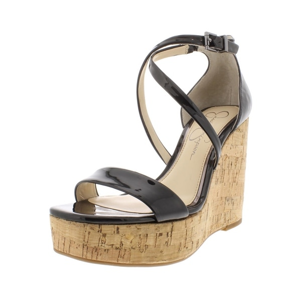 7dbba04d262 Shop Jessica Simpson Womens Stassi Wedges Solid Platform - Free ...
