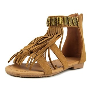Forever Link Favorite Open Toe Synthetic Gladiator Sandal