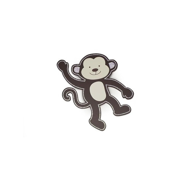 "Babies""R""Us Monkey Wall Decor Wooden Nursery"