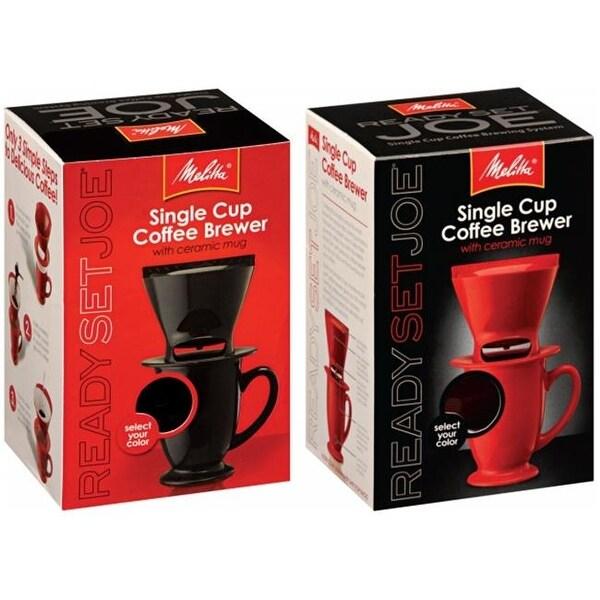 Shop Melitta 64012 1 Cup Assorted Ready Set Joe One Cup Coffee Maker