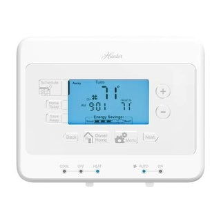 Hunter Home Comfort 44378 Digital 7 Day Programmable Thermostat with Save Away/H