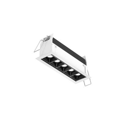 """DALS Recessed Linear with 5 Mini Spot Lights - 7"""" - 6 Inch"""