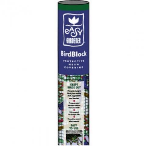 Easy GardenerA 601 BirdBlockA Protective Mesh Covering, 14' x 14', Black