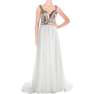 Terani Couture Chiffon Prom Semi-Formal Dress - 8