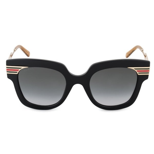 428eae97d9d Shop Gucci GG0281S 001 50 Square Sunglasses - Free Shipping Today -  Overstock - 27984092