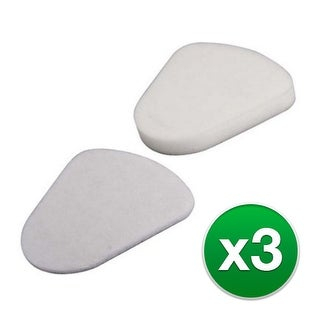 Replacement Vacuum Filter for Shark NV350 Vacuum Model (3pk) w/ Anti Allergen Filtration Type
