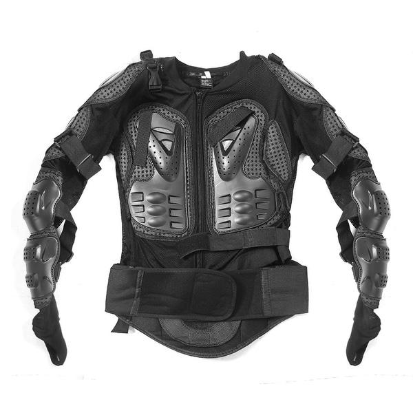 Motorcross Full Upper Body Armor Shirt Jacket Back Shoulder Protector XXL