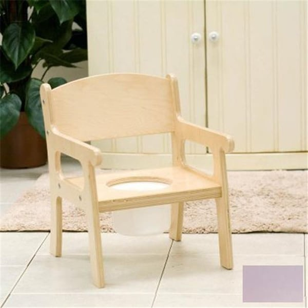 Little Colorado 027LAV Handcrafted Potty Chair in Lavender