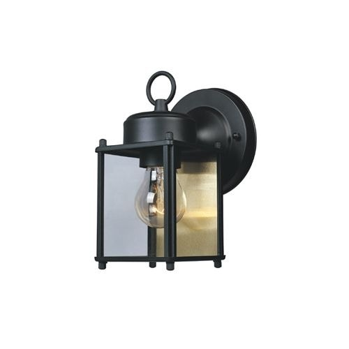 "Designers Fountain 1161-BK 1 Light 4.75"" Wall Lantern"