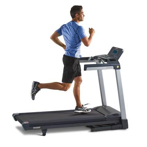 LifeSpan TR4000i Touch Folding Treadmill - Black