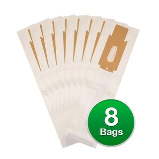 EnviroCare Replacement Vacuum Bags For Oreck Upright 100C Vacuums - 8 Bags