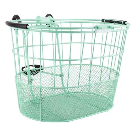 SUNLITE Basket Front Wire/Mesh Oval L/O Std S-Gn W/Bracket - TL-376MW+376A