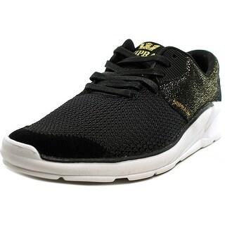 Supra Noiz Boy Black Gold-White Athletic Shoes