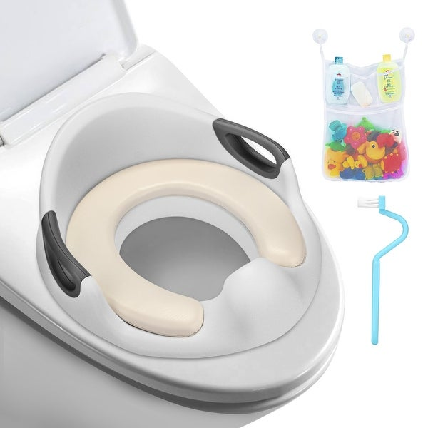 Anti Slip Potty Training Seat Toilet Contoured Cushion for Kids and Toddlers
