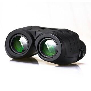 10x25 Bird-Watching Binoculars Waterproof Shakeproof W/ Weak Light Night Vision Clear Binoculars