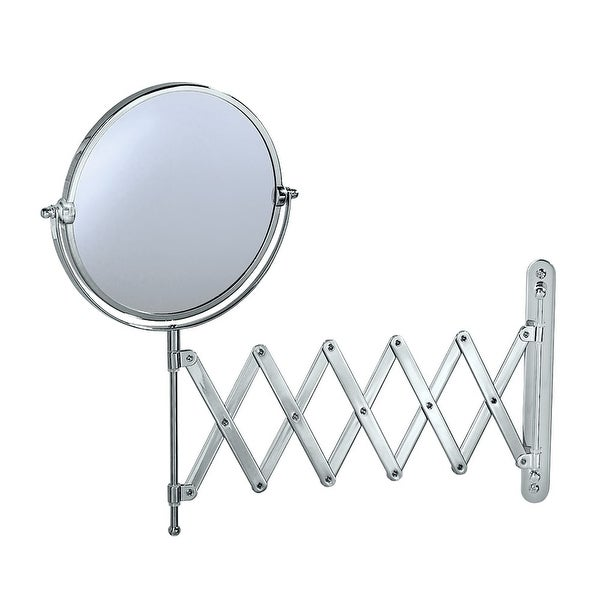 Gatco 1439 Magnified Scissor Wall Mirror - Chrome - N/A
