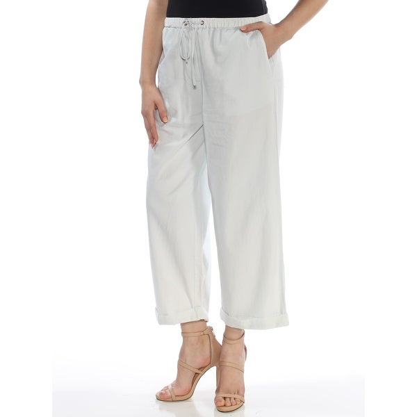 94d76b55792 Shop FRENCH CONNECTION Womens Light Blue Pants Size: 4 - Free Shipping On  Orders Over $45 - Overstock - 27761330