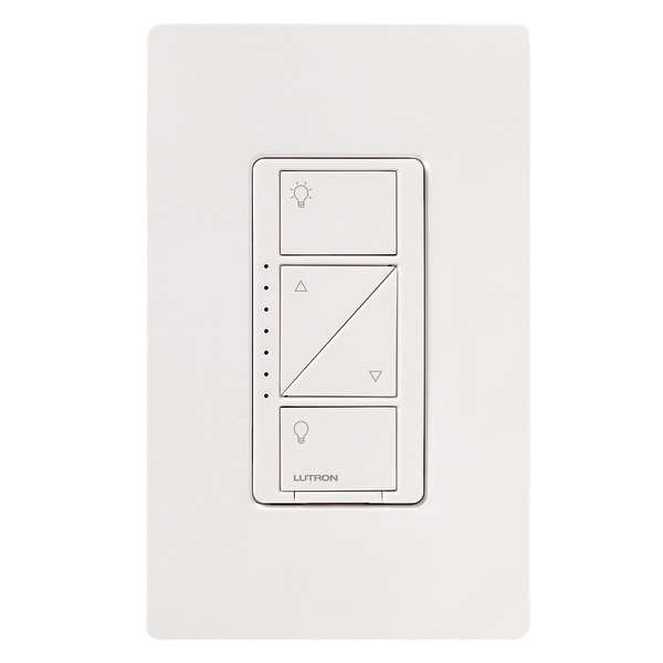 Lutron Caseta Wireless In-Wall Light Dimmer for Wall and Ceiling Lights