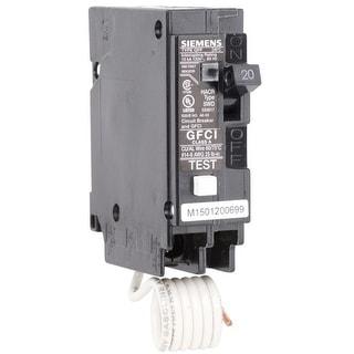 Siemens QF120A Ground Fault Circuit Breaker, 20 Amp, 120 V