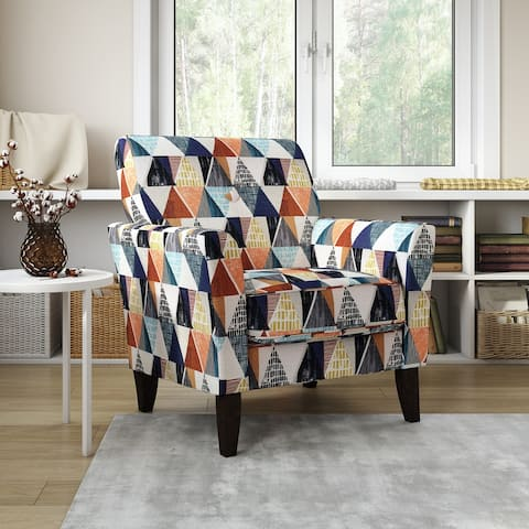 Copper Grove Aria Flared Arm Chair