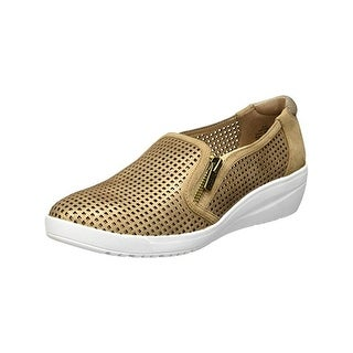 Anne Klein Sport Womens Yaris Fashion Sneakers Wedges Shimmer (More options available)