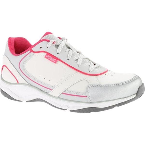 092b62a0c77f ... Women s Shoes     Women s Sneakers. Vionic Women  x27 s Zen Walker  White Fuchsia