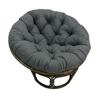 Link to Blazing Needles 48-inch Microsuede Papasan Cushion Similar Items in Table Linens & Decor