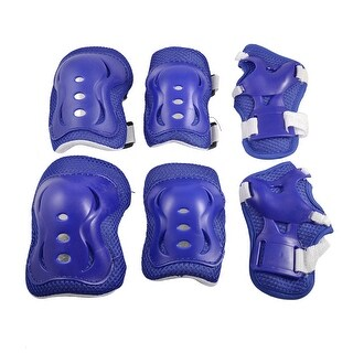 Children Extreme Sports Protective Gear Wrist Guard Elbow Knee Pads Set Supports