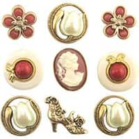 Victorian Treasures - Button Theme Pack