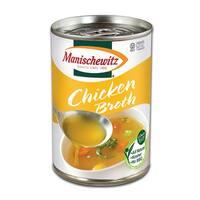 Manischewitz Chicken Broth - Case of 12 - 14 Fl oz.