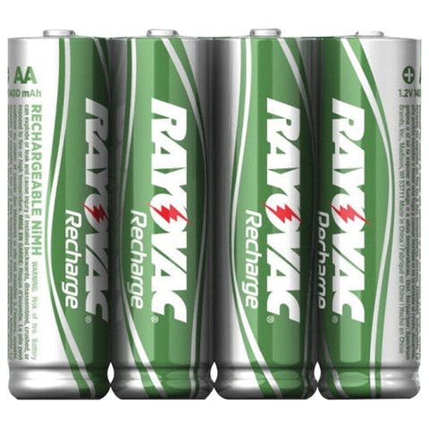 Rayovac Ld715-4Opb Ready-To-Use Rechargeable Nimh Batteries (Aa; 1,350Mah; 4 Pk)