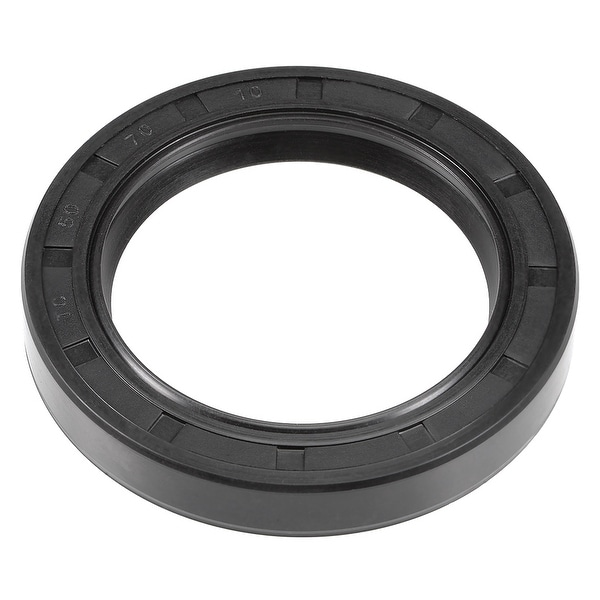 Oil Seal, TC 50mm x 70mm x 10mm, Nitrile Rubber Cover Double Lip