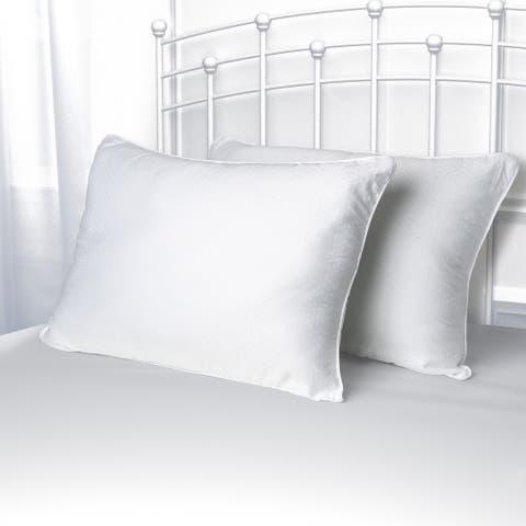 Chaps Down Alternative Twin Pack Pillow - White