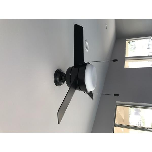 Hunter Fan Aker Matte Black 36 Inch Ceiling Free Today Com 15615175