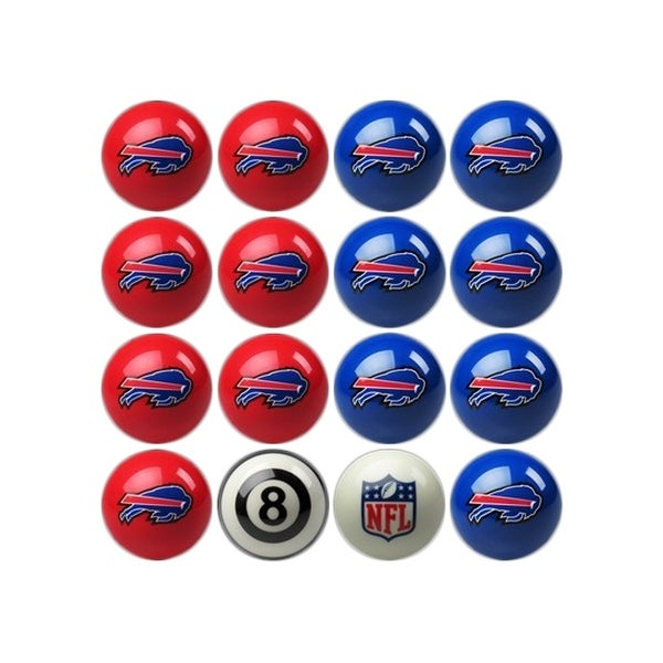 NFL Buffalo Bills Home vs. Away Team Billiard Pool Ball Set