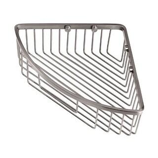 Gatco 1571 12 Inch Corner Shower Basket