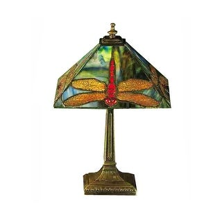 15.5 Inch H Prairie Dragonfly Accent Lamp