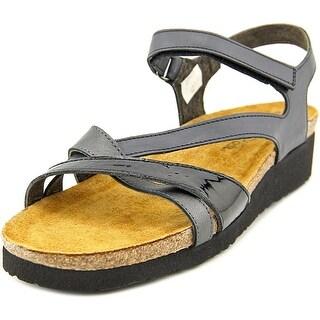 Naot Suede Leather Sandals Women S Slides Block Heel Shoes