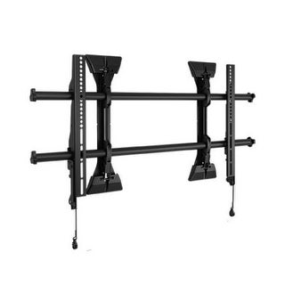 """Chief Fusion Wall Fixed Lsm1u Wall Mount For Flat Panel Display - 37"""" To 63"""" Screen Support - 200 Lb Load Capacity - Bla"""