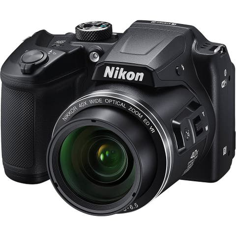 Nikon COOLPIX B500 16MP 40x Optical Zoom Digital Camera - (Black) -