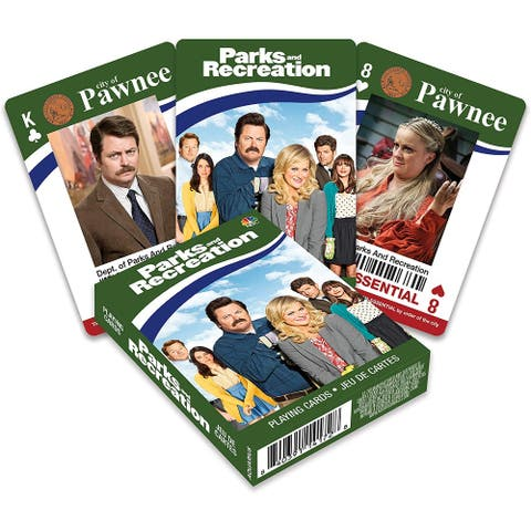 Parks & Recreation Playing Cards - Multi