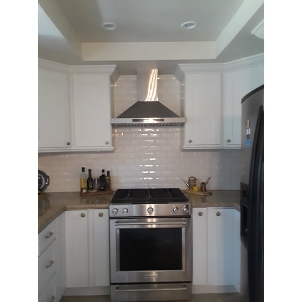 Golden Vantage Oswrhb02 30 Gv Stainless Steel Inch Wall Mount Range Hood Free Shipping Today 9481228